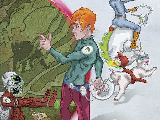 JANO > Creación de personajes y cómic juvenil