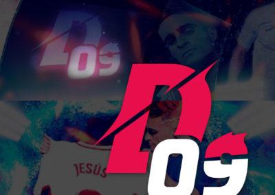 DELANTERO 09 > LOGO SOCIAL MEDIA